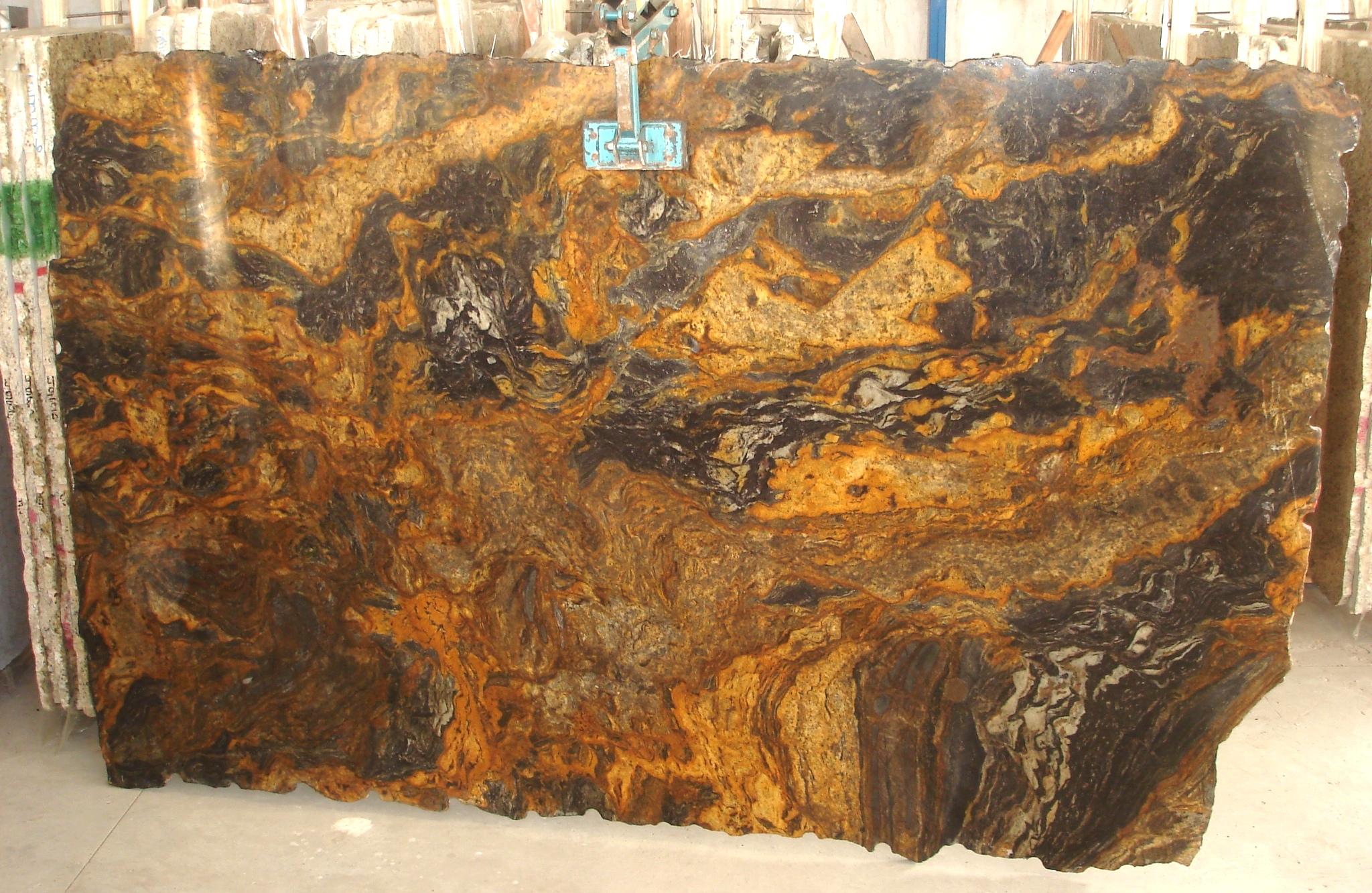 Golden Storm   Granite